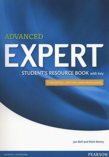 Expert advanced student's resource book. With key. Con espansione online. Per le Scuole superiori