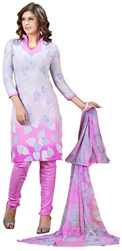 Khushali Fashion Womens Crepe Straight Salwar Suit Set (Vrclr21048 _Multi-Coloured _Free Size)  available at amazon for Rs.375