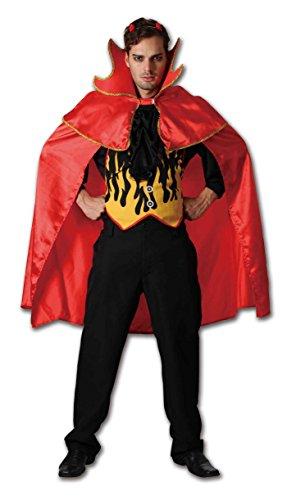 Erwachsene Herren Damen Red Hot Teufel Kostüme Onesize (Onesize, (Kostüme Erwachsenen Beliebtesten)