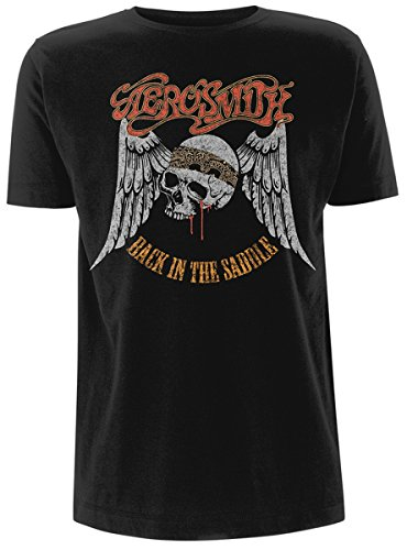 Aerosmith Back In the Saddle Camiseta Negro XL