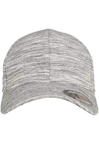 Flexfit Stripes Melange casquette, Gris, S/M