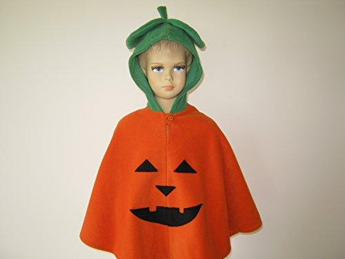 lloween kostüm cape für kleinkinder kürbis (Kürbis Kostüme Kleinkind)