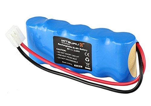 Mitsuru® 3000mAh Ni-MH 6V Akku Batterie für Bosch Somfy D14 K10 K12 K8 K6 Roll-Lift Easy-Lift