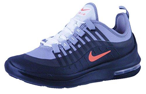 Nike Jungen Air Max Axis (Gs) Leichtathletikschuhe, Mehrfarbig (Wolf Grey/Total Crimson/Black/Anthracite 003), 36.5 EU