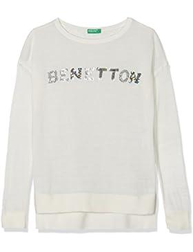 United Colors of Benetton Mädchen Sweatshirt Sweater L/S