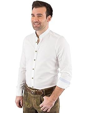 Hatico Mode Pure Trachtenhemd Herren Langarm C52607-21698 900