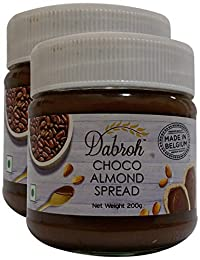 More Combo - Dabroh Spread - Choco Almond, 200g (Pack of 2) Promo Pack