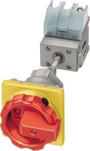 Siemens 3LD2514-0TK53 interruptor eléctrico 3P Rojo, Amarillo - Accesorio cuchillo eléctrico (3P,...
