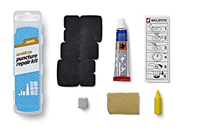 Weldtite Unisex Puncture Repair Kit, Black, One Size by Weldtite