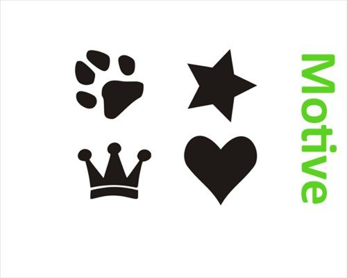 Hundenapf mit Name Fressnapf Gr. M — Wunschangaben saperat als Mail - 4