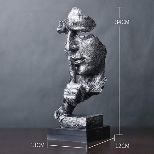 RYDX Moderno Simple Esculturas Pensador