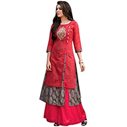 Dhruvi Trendz Women's Clothing Kurti for Women Latest Design Party wear Collection (DT-k1098-M)