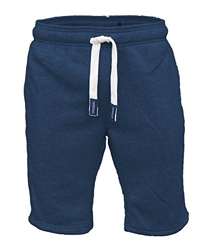 mens-sweat-summer-jogger-plain-fleece-jersey-jogging-shorts-s-xxl-medium-navy