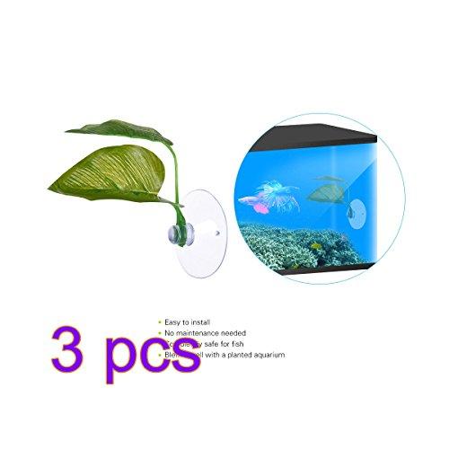 SW-Ning Betta Plant-, 3Stück, Hängematte, tropische Fische, Aquarium, für - Aquarium Betta Für Fisch