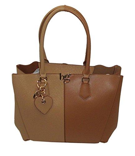 Borsa SHOPPING con tracolla BLUGIRL by blumarine BG 918001 women bag CUOIO