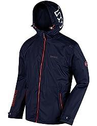 Regatta, giacca impermeabile giacca Shell Mackson, Uomo, Mackson, Navy, 2X-Large