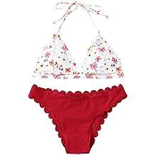 Luckycat Mujeres Bikini, Traje de Baño Push Up Playa de Bikini Bikini Mujer Conjuntos 2019