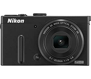 Nikon Coolpix P330 12.2MP Point and Shoot Camera (Black) with 5x Optical Zoom, 4GB Card, Camera Case and HDMI Cable