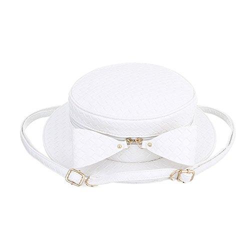 Ital-Design, Borsetta da polso donna Bianco