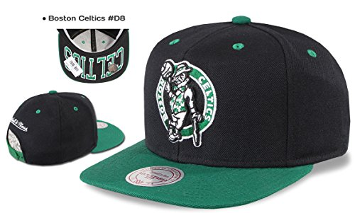 Mitchell & Ness Casquette Snapback Chicago Bulls, Valentine Nets ,Los Angeles Kings, Miami Heat, Warriors etc. Boston Celtics #D8