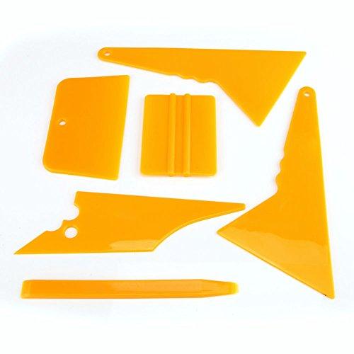 Delaman Professionelle Auto Fenster Tint Getönte Werkzeug-Set für Automatische Film Schaber
