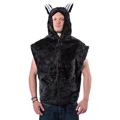 Erwachsene Katze T-Shirt Stil Kostüm-One Größe Fits All
