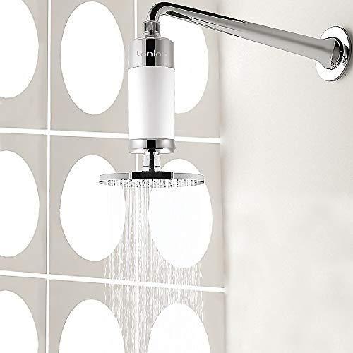 Lonior KDF-55 Filtro de ducha de alta salida, purificador de agua dura para suavizar el agua, elimina...