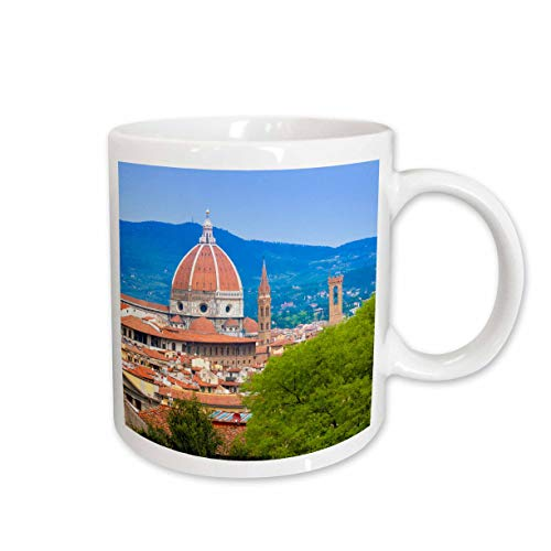 3dRose mug_227637_1 View City Center of Florence, Firenze, UNESCO, Tuscany, Italy Becher - Florence City Center