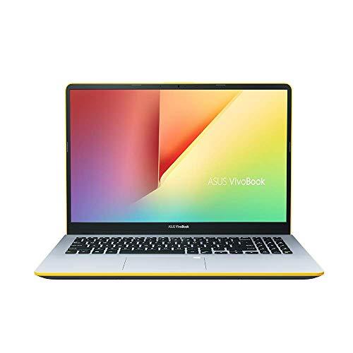Asus VivoBook S15 S530UF 90NB0IB4-M00710 Notebook (39,6 cm, 15,6 Zoll Full HD Matt, Intel Core i5-8250U, 16GB RAM, 256GB SSD, 1TB HDD, NVIDIA MX130 2GB, Win 10 Home) silver blue yellow -