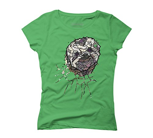 ABSTRACT SLOTH Women's Graphic T-Shirt - Design By Humans Green