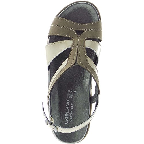 Grunland 68DORA SE0046 Sandalo Donna Taupe