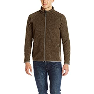 Arborwear Men's Staghorn Fleece Jacket, Chestnut, 2X-Large