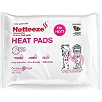 Hotteeze Eco Friendly Self Adhesive Odourless Pain Relief Heat Pads - 1 Pack (10 pads)