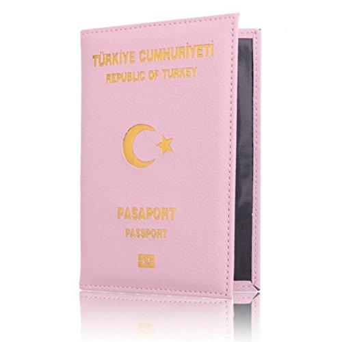 Dedicated Nice Travel Passport ID Card Cover Holder Case Protector Organizer (B) -