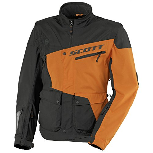 Scott 350 Enduro MX/Cross Veste de moto Noir/Orange 2017 : Taille : M (48/50)