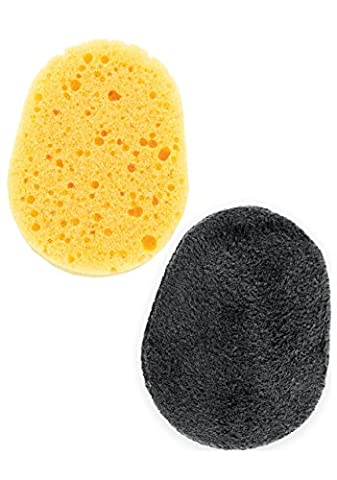 Back Applicator Deluxe Replacement Sponges Set: Flawless Lotion and Self