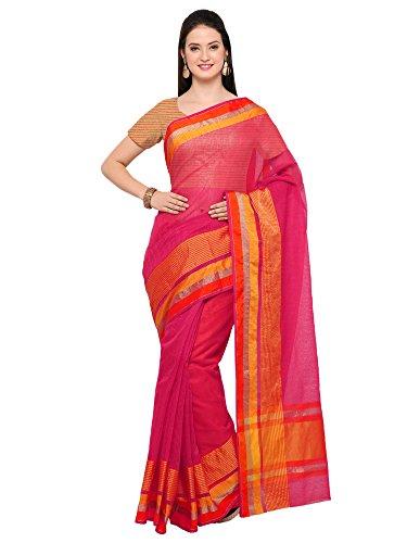 Saree Mall Women's Linen Silk Saree With Blouse Piece (sarees new collection...