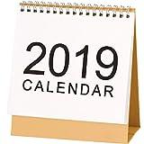 Calendrier mensuel de sept 2018 à décembre 2019, calendrier de bureau mensuel, calendrier journalier pour les étudiants, les employés de bureau, les femmes au foyer. - Medium