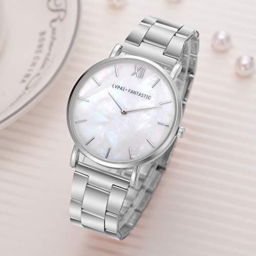 Uhren Damen Armbanduhr Rhinestone Wristwatch Damen Kleid Watch Quartz Watch Sportuhr Analog Edelstahl Uhren Klassisch Uhr,ABsoar