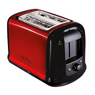 Moulinex-LT261D-Toaster-Subito-rot-metallicRot-Schwarz