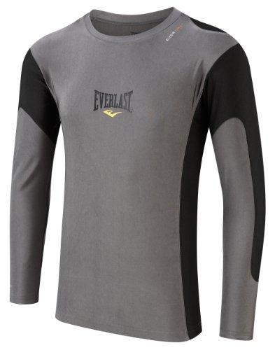 everlast-long-sleeve-rashguard-t-shirt-moulant-micro-fibre-hommegris-noir-xl