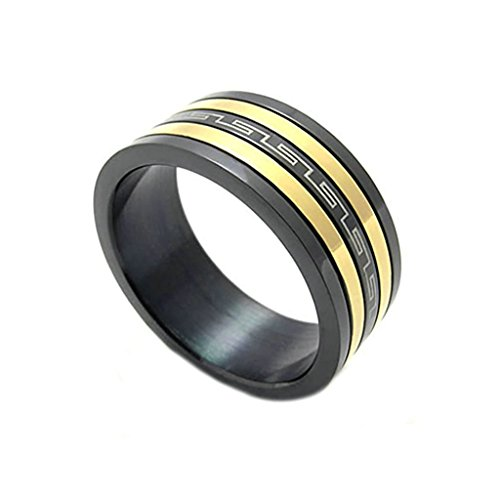 mens-rings-stainless-steel-bands-black-golden-spinner-polished-spinning-uk-x-1-2-by-aienid