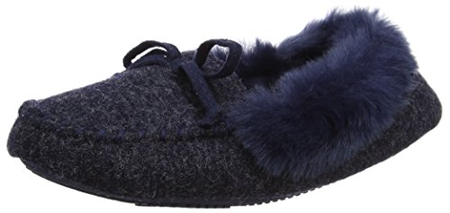 Isotoner Fine Knit Moccasin Slippers