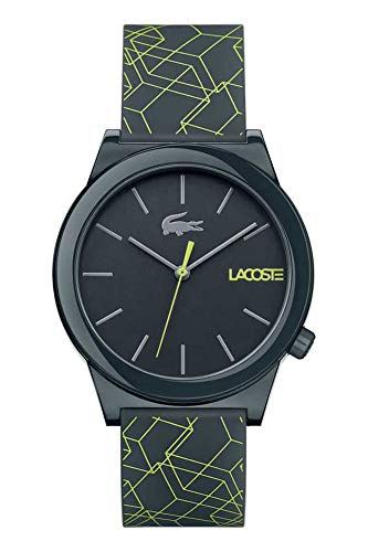 Lacoste Unisex-Adult Analogue Classic Quartz Watch with Silicone Strap 2010958