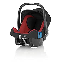 Britax Baby-Safe Plus SHR II Infant Carrier - Group 0 + (Birth - 12/15 Months), Chili Pepper