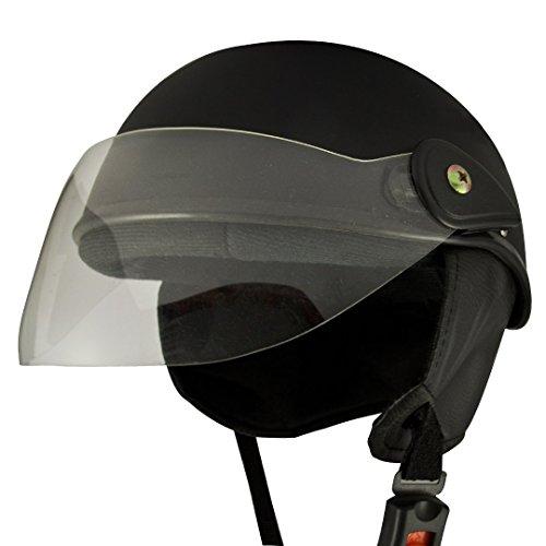 Anokhe Collections Racing Master Half Helmet, Medium (Matte Black)