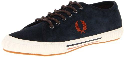 Fred Perry Zapatos De Moda De Ante Fred Fred Perry Tenis, Para Hombre Azul Oscuro
