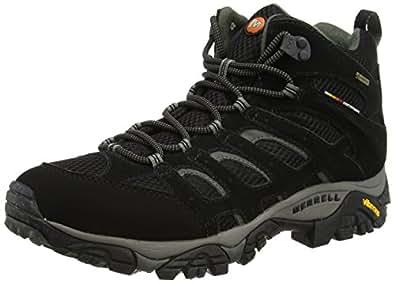 Merrell MOAB MID GTX, Herren Trekking- & Wanderstiefel, Schwarz (BLACK), 40 EU
