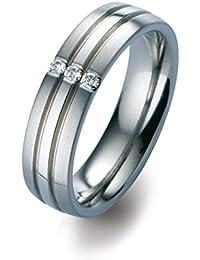 Orphelia -Ehe, Verlobungs & Partnerringe Diamant Ringgröße 55 (17.5) - ORB51715/55