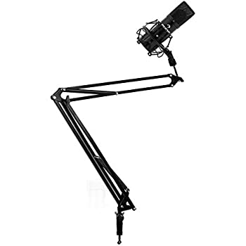 Professional Studio Aufnahme Mikrofon Arm Stehen Rundfunk Mikrofon Clip Scissor Arm Halter Tisch Montage Clamp Feine Verarbeitung Unterhaltungselektronik